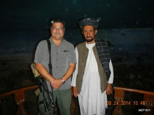 This Mujahedeen fighter served as our tour guide